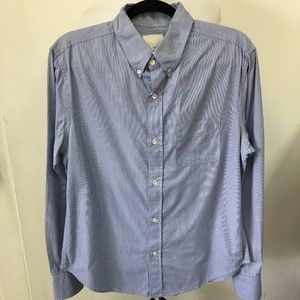 Band of Outsiders Mens Button Down Shirt Large